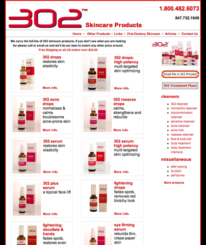 302 Products