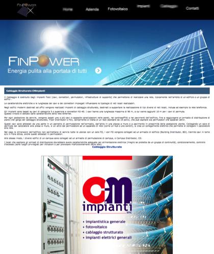 Cablaggio Strutturato Finpower - Finpower Impianti - Energia Solare Impianti Elettrici Cablaggio Strutturato Ercolano Napoli