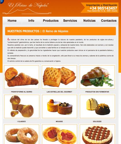 Productos - El Reino De Napoles - Importación Y Distribución, Productos Italianos