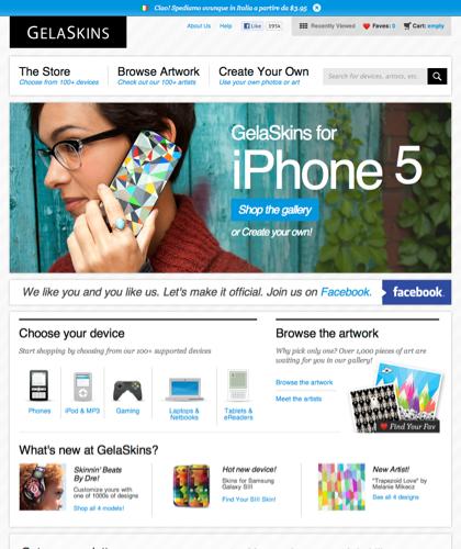 Gelaskins | Iphone Skins, Iphone Cases, Iphone 5 Cases, Ipad Skins, Ipod Skins, Laptop Skins, Gaming Skins, Ereader Skins, Custom Skins & Cases, And More…