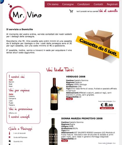 Consegne - Mr Vino -
