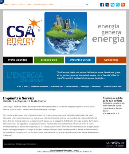 Impianti E Servizi - Csa Fotovoltaico - Energia In Luce