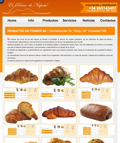 Productos Sin Fermentar - El Reino De Napoles - Fermentación 3h. Temp. 28° Humedad 70%