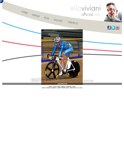 Elia Viviani (isola Della Scala, 7 Febbraio 1989) è Un Ciclista Su Strada E Pistard Italiano Che Corre Per La Liquigas-cannondale. Ha Caratteristiche Di Passista Veloce[1][2][3][4] Ed è Plurimedagliato Nel Ciclismo Su Pista Nelle Categorie Juniores E Un|Elia,  Viviani,  Pistard,  Ciclismo,  Corridore,  Italia,  Bicicletta,  Strada,  Pista,  Isola Della Scala,  Verona,  Londra 2012,  Liquigas Cannondale,  Velocista,  Cronometro,  Specialità,  Giro,  Vuelta,  Tour,  Omnium,  Pluricampione,  Categoria.ciclismo, Ciclismo.it, ...