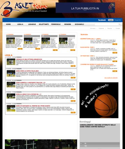 Lega Basket Serie A - Baskettiamo - Basket Ti Amo Pallacanestro. Basketball. Legabasket. Campionato Italiano Basket. Eurolega. Fip. International Championship Basket Ball.