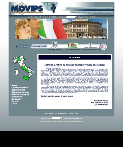 Amiche E Amici Sostenitori Di Sebastiano Piana Movips - Movips - Movimento Ideale Di Partecipazione Sociale
