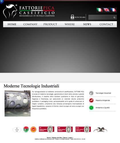 Fattorie Pica Technology & Plants - Fattorie Pica - Mozzarella Di Bufala Campania
