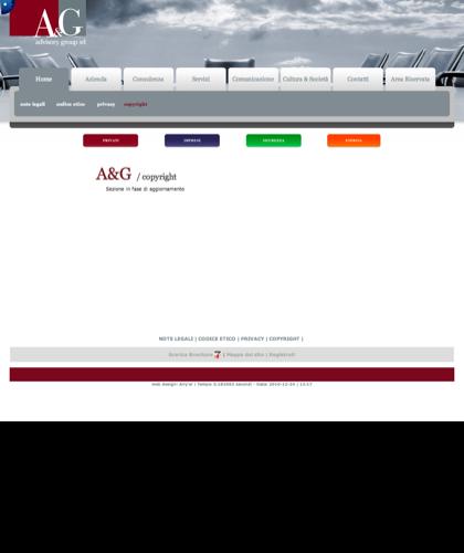 A&g Advisory Group Srl  - Copyright - A & G - A&g Advisory Group, Azienda, Servizi, Consulenza, Comunicazione, Cultura & Societ�, Privati, Imprese, Sicurezza, Energia