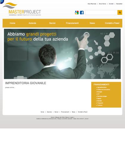 Imprenditoria Giovanile - Master Project - Consulenza E Servizi Integrati Per La Finanza Agevolata