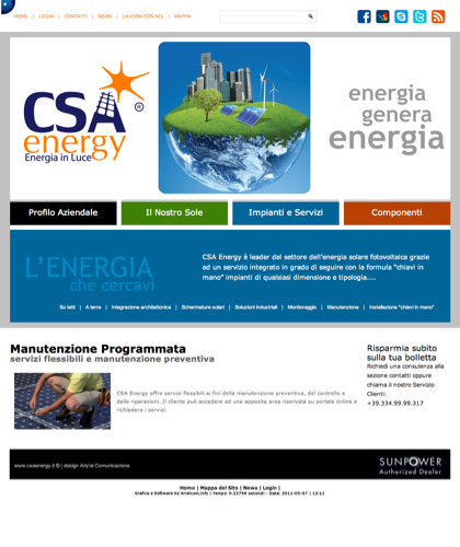 Manutenzione Programmata - Csa Fotovoltaico - Energia In Luce