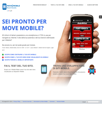 Sei Pronto Per Move Mobile?