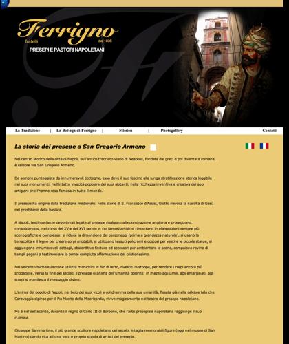 Home - Fratelli Ferrigno - Ferrigno Presepi E Pastori Napoletani