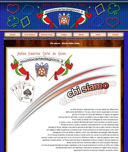 Antica Fabbrica Carte Da Gioco Muoiocartedagioco - Muoio Carte Da Gioco -  Carte Plastificate - Carte Regionali - Carte Personalizzate - Giochi Di Societ� - Dadi Fichese Astucci