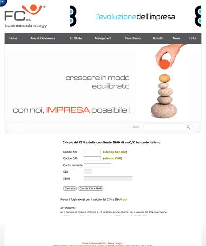 Fc Business Strategy Calcolo Codice Iban - Fc Srl -  Impresa Possibile