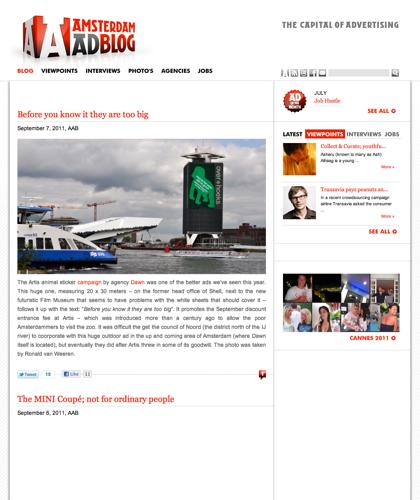 Amsterdam Ad Blog