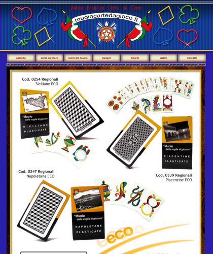 Carte Da Gioco Eco - Muoiocartedagioco - Muoio Carte Da Gioco -  Carte Plastificate - Carte Regionali - Carte Personalizzate - Giochi Di Società - Dadi Fichese Astucci