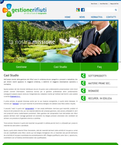 Gestione Rifiuti - Casi Studio - Ecopraxis -