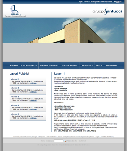 Comune Di Caserta - Sacogen - Costruzioni Civili E Industriali Sacogen