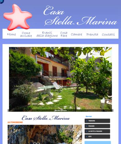 Casa Stella Marina Praiano  - Stella Marina Praiano - Stella Marina Praiano Bed & Breakfast Amalfi Affittasi Appartamenti E Camere
