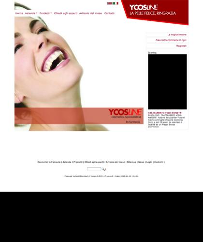Cosmetici In Farmacia Creme Per La Pelle Il Viso Il Corpo Ycosline  - Ycosline - Azienda Che Produce Cosmetici E Prodotti Di Bellezza Per La Pelle. Ycosline Antirughe Fitoendorfine Idratanti In Farmacia
