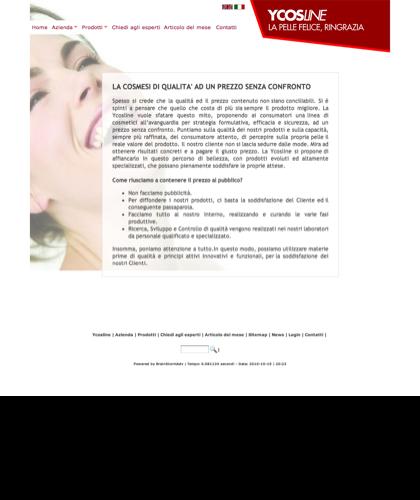 Azienda Produttrice Di Cosmetici Ycosline - Ycosline - Azienda Che Produce Cosmetici Che Trovi In Farmacia E Prodotti Di Bellezza Per La Pelle. Ycosline Antirughe Fitoendorfine Idratanti In Farmacia