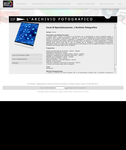 L Archivio Fotografico - Sif Academy - Il Modulo Tratta I Metodi, Le Tecniche E Gli Strumenti Per La Realizzazione Di Archivi Fotografici Digitali.