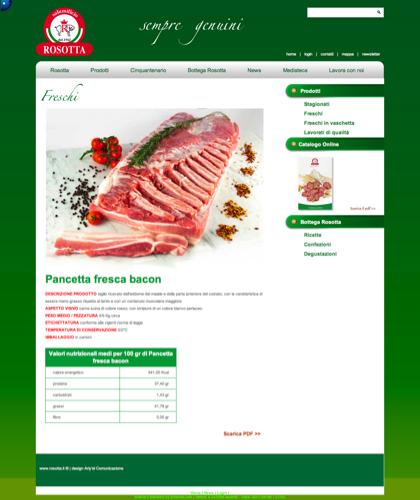 Freschi - Pancetta Fresca Bacon - Rosotta - Rosotta Salumificio Dal 1962