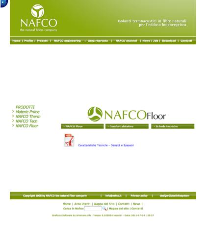 Nafco Floor - Schede Tecniche - Nafco -