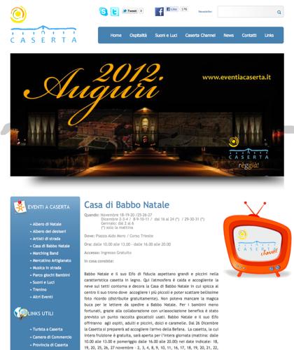 Casetta Di Babbo Natale - Eventi A Caserta - Intro