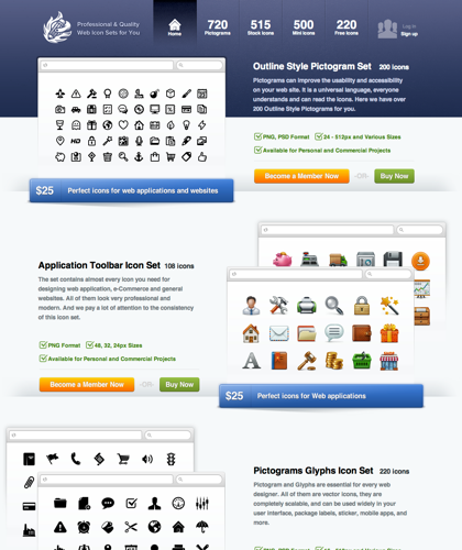 Web Icon Set - Offers Professionally Designed Web Icons And Stock Icons