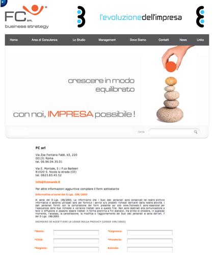Fc Business Strategy Contatti - Fc Srl -  Impresa Possibile