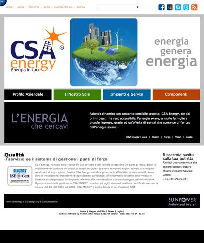 Qualita - Csa Fotovoltaico - Energia In Luce
