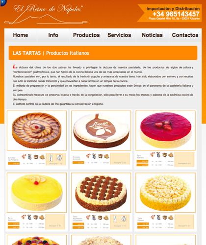 Las Tartas - El Reino De Napoles - Productos Italianos