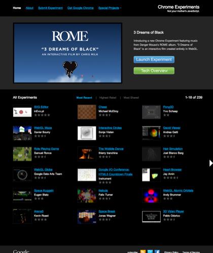 Chrome Experiments - Home