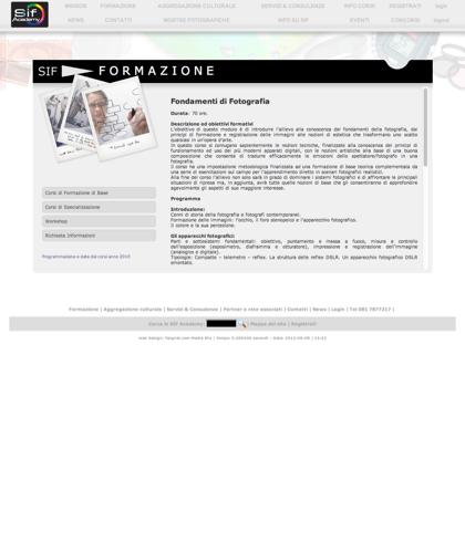 Corsi Di Formazione Di Base - Sif Academy - L'obiettivo Di Questo Modulo è Di Introdurre L'allievo Alla Conoscenza Dei Fondamenti Della Fotografia, Dai Principi Di Formazione E Registrazione Delle Immagini Alle Nozioni Di Estetica Che Trasformano Uno