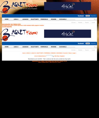 Headers For Mastro - Baskettiamo - Paragrafi Da Usare Come Banners Nella Testata Delle Pagine Mastro