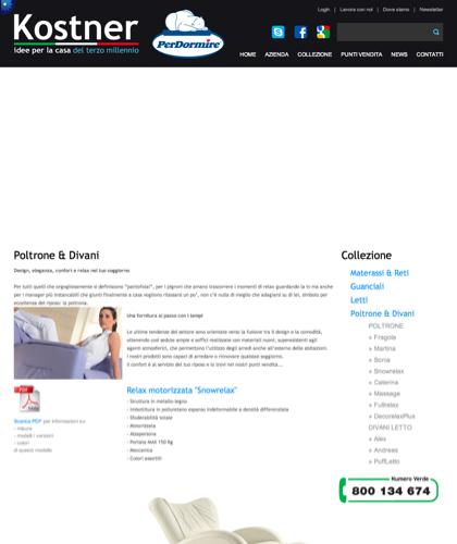 Poltrone & Divani - Kostner Italia - Idee Per La Casa Del Terzo Millennio.