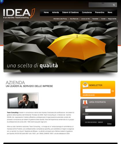 Azienda - Idea Cert - è Un Marchio Teamconsulting