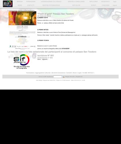 I Concorsi Della Sifacademy - Sif Academy -