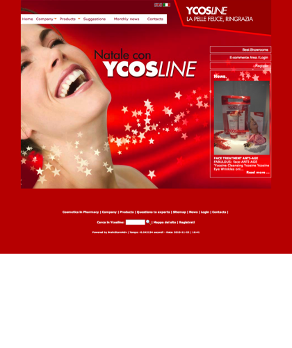 Cosmetic Skin Creams In Pharmacy Face Body Ycosline - Ycosline - Company Which Produces Cosmetics And Beauty Products For The Skin. Ycosline Fitoendorfine Moisturizing Anti-wrinkle Drugs