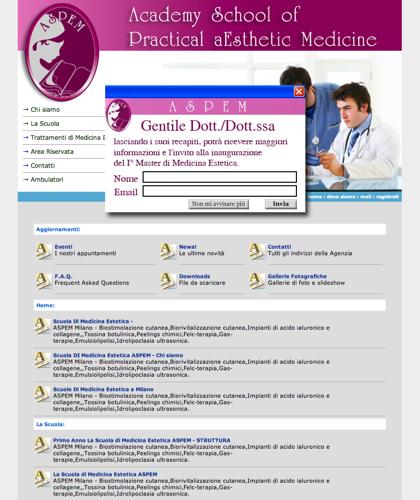 Scuola Di Medicina Estetica Milano Aspem