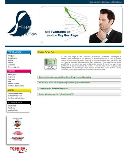 Modello Pay Per Page - Soluzione Ufficio -