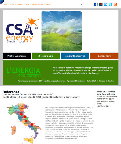Referenze - Csa Fotovoltaico - Energia In Luce