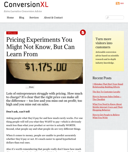 Pricing Experiments You Might Not Know, But Can Learn From