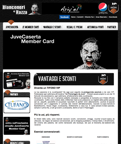 Vantaggi E Sconti - Juvecard - Basket Pallacanestro. Associazione Sportiva, Campionato Italiano Basket. International Championship Basket Ball.