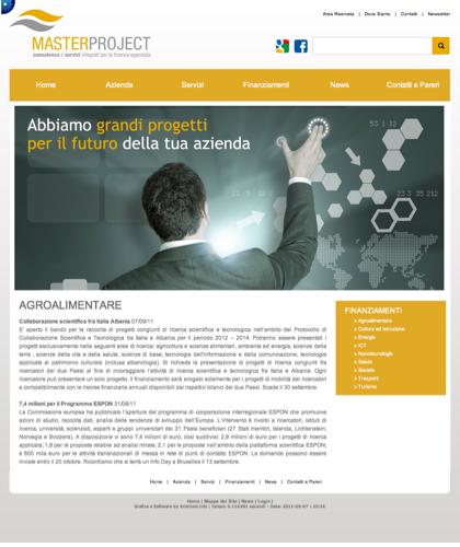 Agroalimentare - Master Project - Consulenza E Servizi Integrati Per La Finanza Agevolata