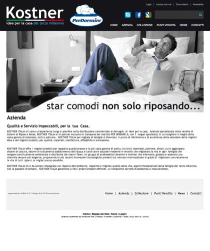 Azienda - Kostner Italia - Idee Per La Casa Del Terzo Millennio.