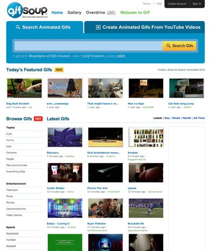 Youtube To Animated Gif - Gifsoup.com