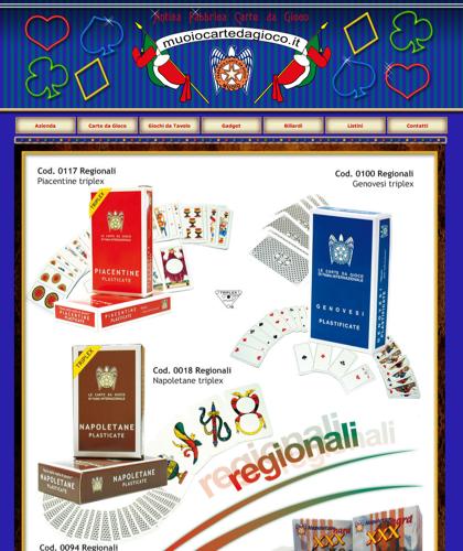 Carte Da Gioco Regionali - Muoiocartedagioco - Muoio Carte Da Gioco -  Carte Plastificate - Carte Regionali - Carte Personalizzate - Giochi Di Società - Dadi Fichese Astucci