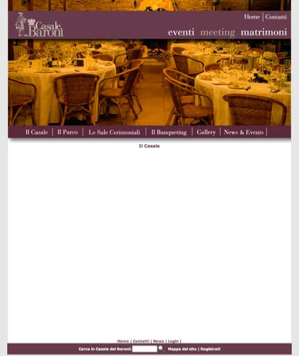 Galleria Il Casale - Casale Dei Baroni - Matrimoni, Location, Ville, Casali, Residenze, Tenute, Sposi, Ricevimenti, Masserie, Nozze, Wedding Planners, Catering, Banqueting, Agriturismo, Bed & Breakfast